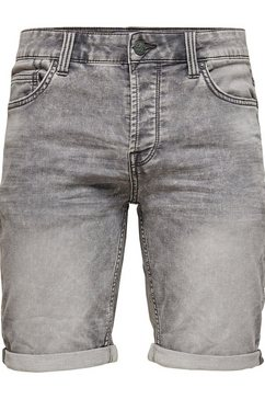 only  sons short »ply blue shorts« grijs