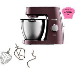 kenwood keukenmachine chef xl sense special edition kql 6300z, 1400 watt, inhoud kom 6,7 liter paars