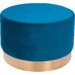 kayoom hocker »nano 510« blauw