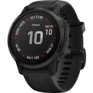 garmin »fenix 6 s – pro« smartwatch zwart