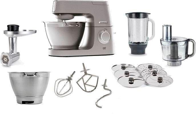 Kenwood »Chef Elite KVC5401S« keukenmachine veilig op otto.nl kopen