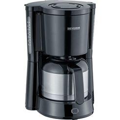 severin »ka 4835« filterkoffieapparaat zilver