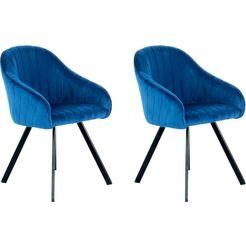 kayoom stoel jodie 125 (2 stuks) blauw