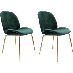 kayoom stoel charlize 110 (2 stuks) groen