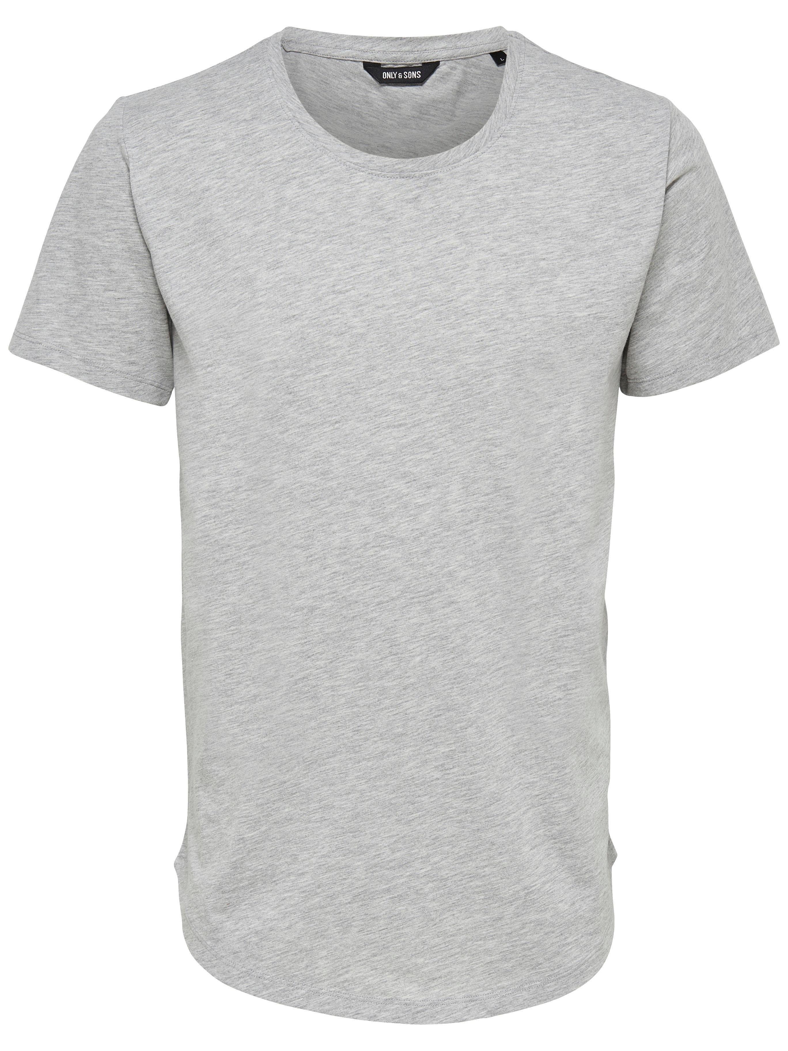 Only & Sons shirt met ronde hals »ONSMATT LONGY TEE« veilig op otto.nl kopen