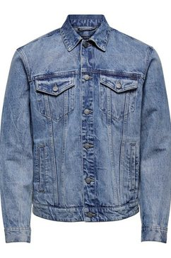 only  sons jeansjack »coin trucker« blauw