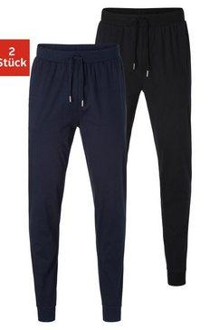 authentic underwear pyjamabroek van zacht single-jerseymateriaal (set van 2) multicolor