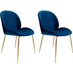 kayoom stoel charlize 110 (2 stuks) blauw