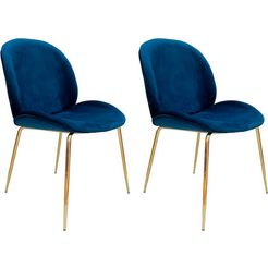 "kayoom stoel ""charlize 110"" blauw"