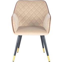 kayoom stoel amino 525 (per stuk) beige