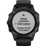 garmin »fenix 6 – pro« smartwatch zwart