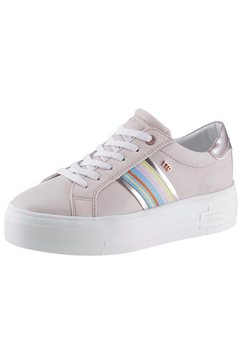 tom tailor plateausneakers roze