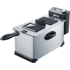 severin friteuse fr 2431 capaciteit 0,4 kg zilver