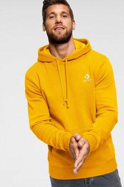 converse hoodie »converse star chevron emb po hoodie« geel