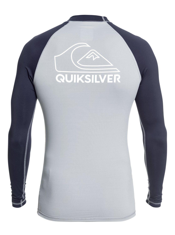 Quiksilver - On Tour Rash Vest Met Korte Mouwen En Upf 50 Voor Jongens 8-16 Online Shoppen Geweldige Prijs