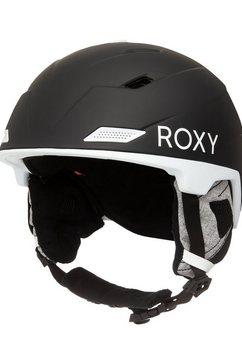 roxy snowboardhelm »loden« zwart