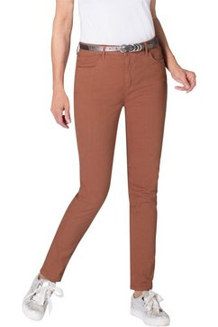 ambria jeans in smal model bruin