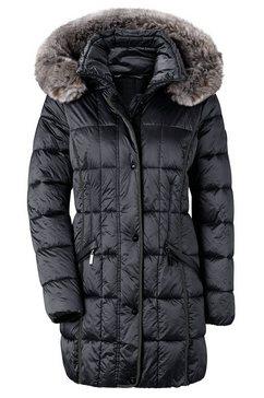 wega jas met een afneembare capuchon zwart