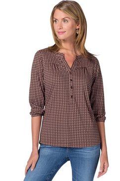 ambria shirt met iets langere achterkant roze