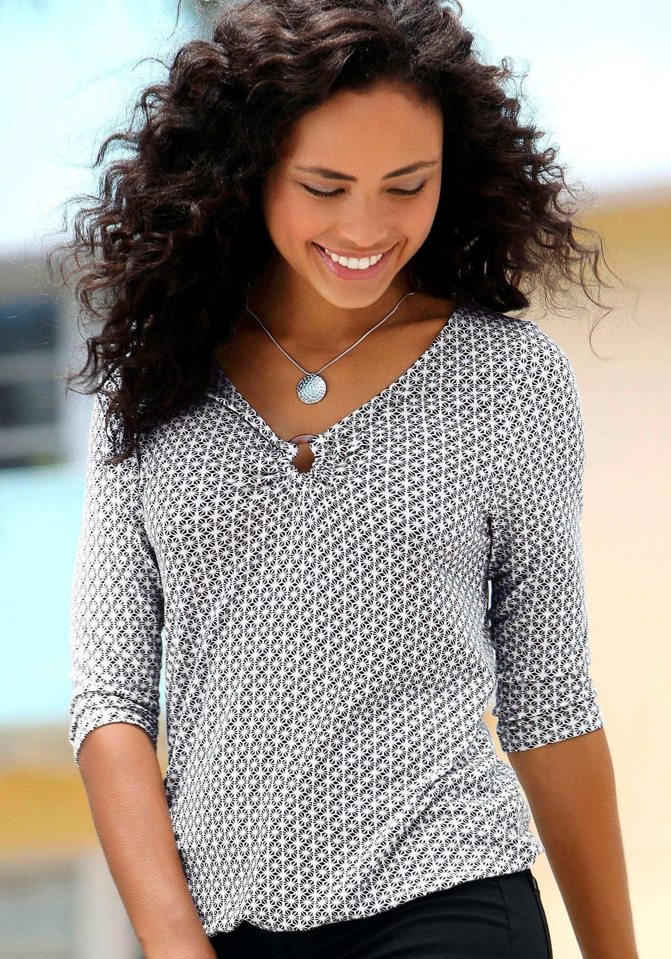 Lascana shirt met 3/4-mouwen in de webshop van OTTO kopen