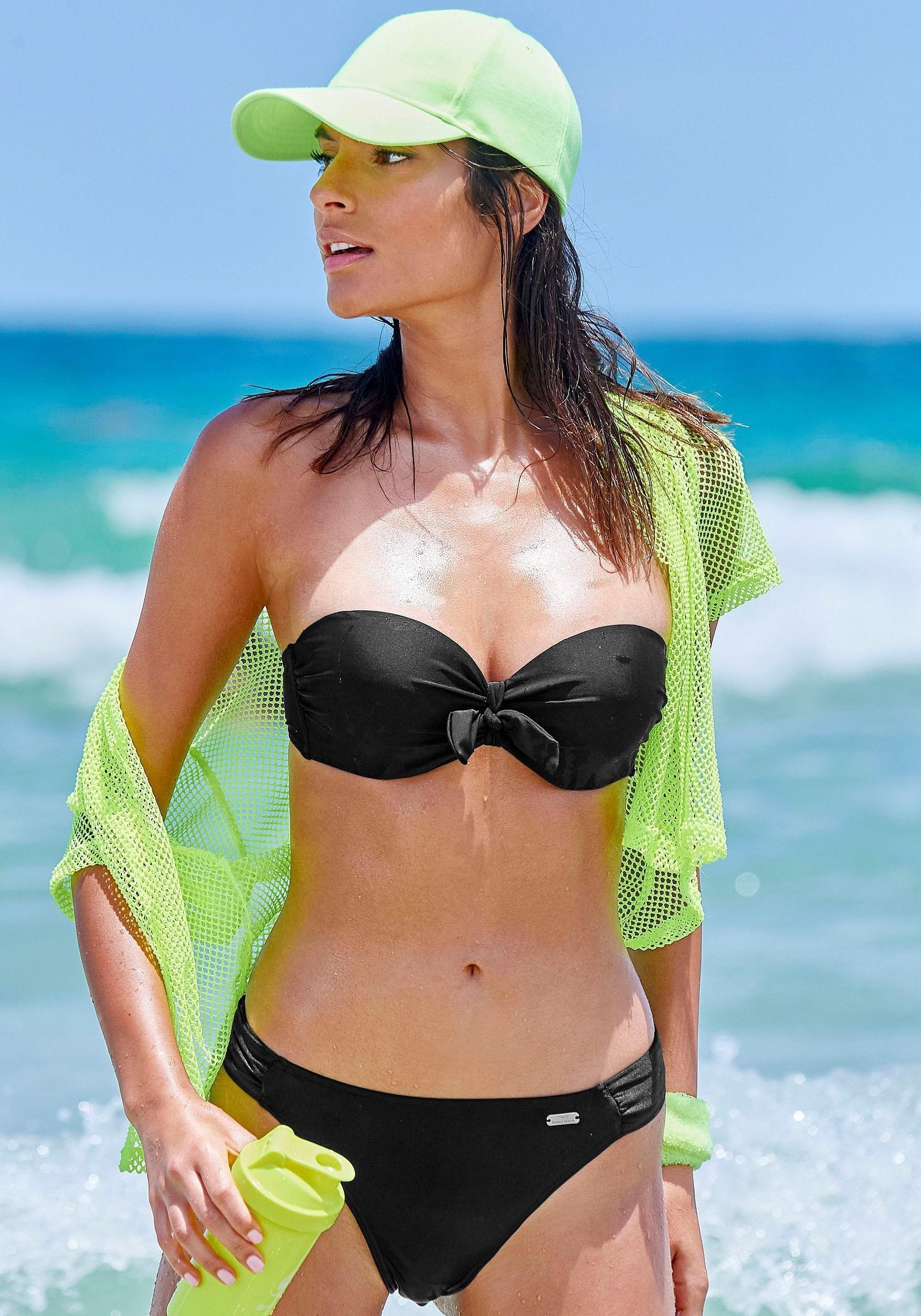 Venice Beach beugelbikini in bandeaumodel met sierstrik in de webshop van OTTO kopen