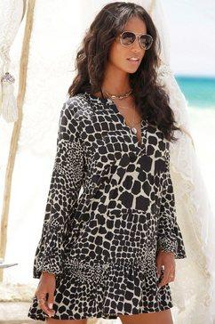 lascana lange blouse schwarz