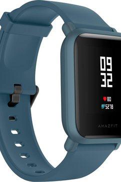 amazfit smartwatch blauw