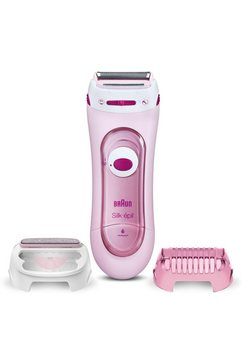 braun elektrisch scheerapparaat silk-épil lady shaver 5-360 3-in-1 roze