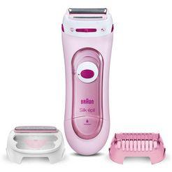 braun, elektrisch scheerapparaat silk-épil lady shaver 5-360 roze