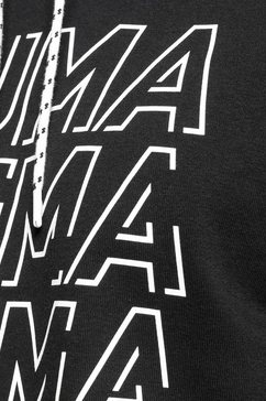 puma hoodie »modern sports hoody« zwart