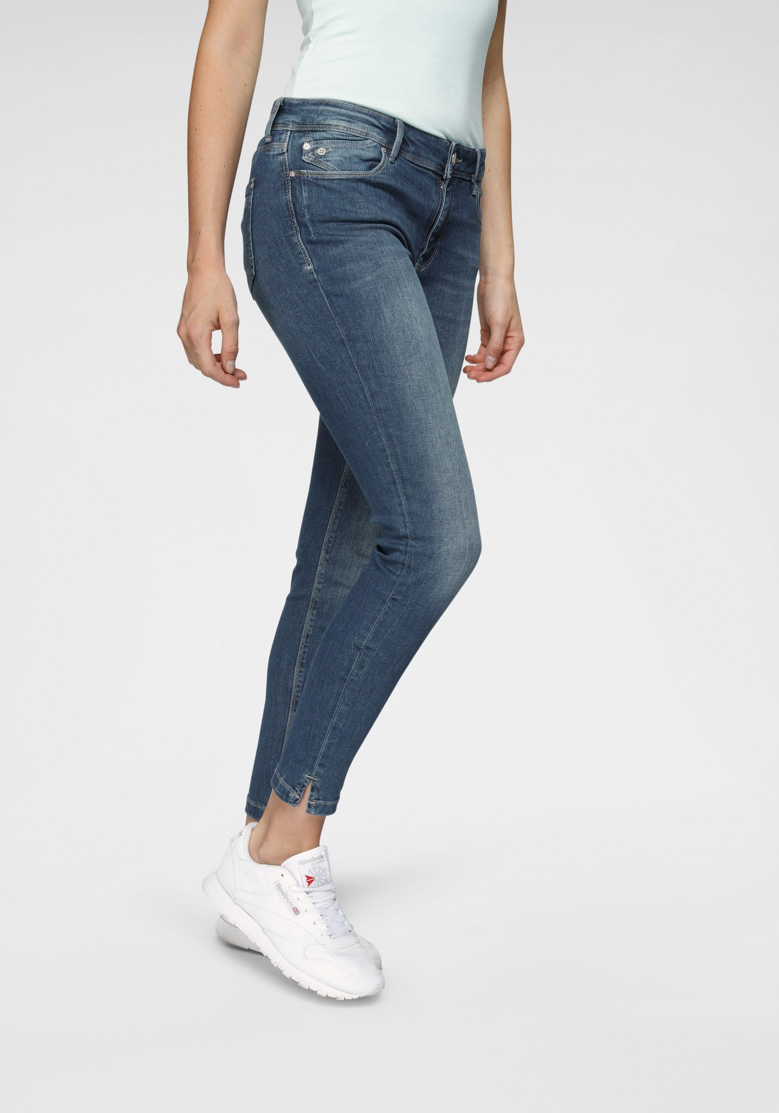 Mavi skinny fit jeans  ADRIANA ANKLE nu online bestellen  mid-blue