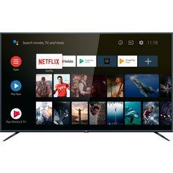 tcl 75ep661x1 led-tv (189 cm-75 inch, 4k ultra hd, smart-tv) zilver
