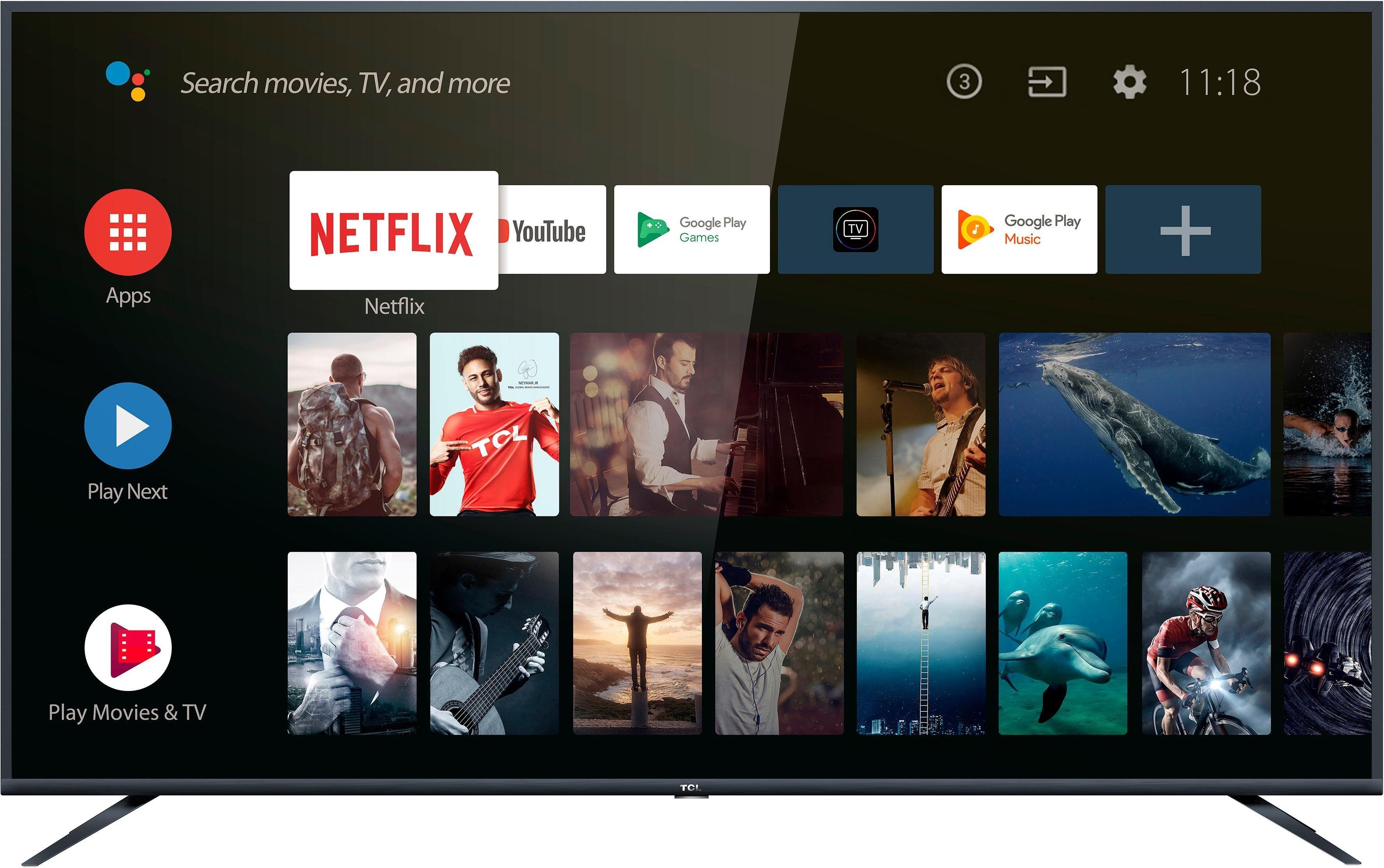 Tcl 75EP661X1 LED-TV (189 cm/75 inch, 4K Ultra HD, Smart-TV) in de webshop van OTTO kopen