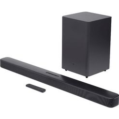jbl soundbar bar 2.1 deep bass zwart