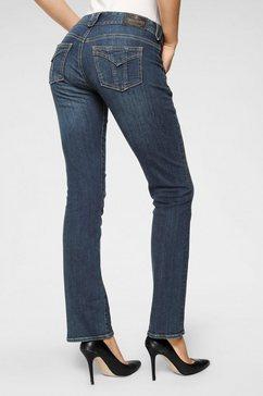 herrlicher rechte jeans »jayden« blauw