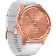 garmin »vivomove style« smartwatch roze