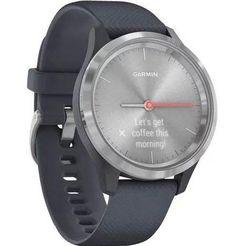 garmin »vivomove 3s« smartwatch blauw
