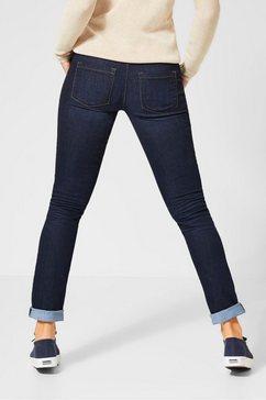 street one slim fit jeans »jane« blauw