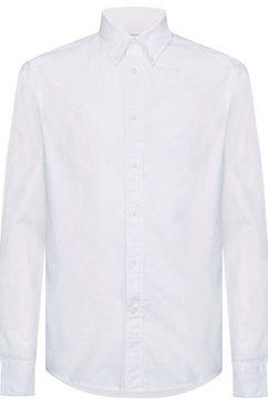 calvin klein overhemd met lange mouwen wit