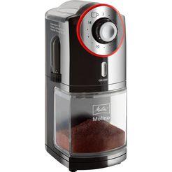 melitta koffiemolen molino 1019-01 zwart-rood zwart