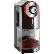 melitta »molino 1019-01 schwarz-rot« koffiemolen zwart