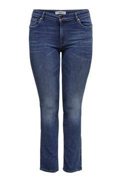only carmakoma straight jeans »carveva« blauw