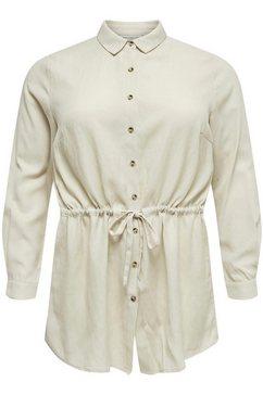 only carmakoma lange blouse »sybilla« beige