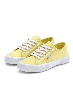 lascana sneakers geel