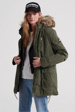 superdry parka »arizona rookie parka« groen