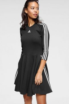 adidas performance jerseyjurk »3 stripes dress« zwart