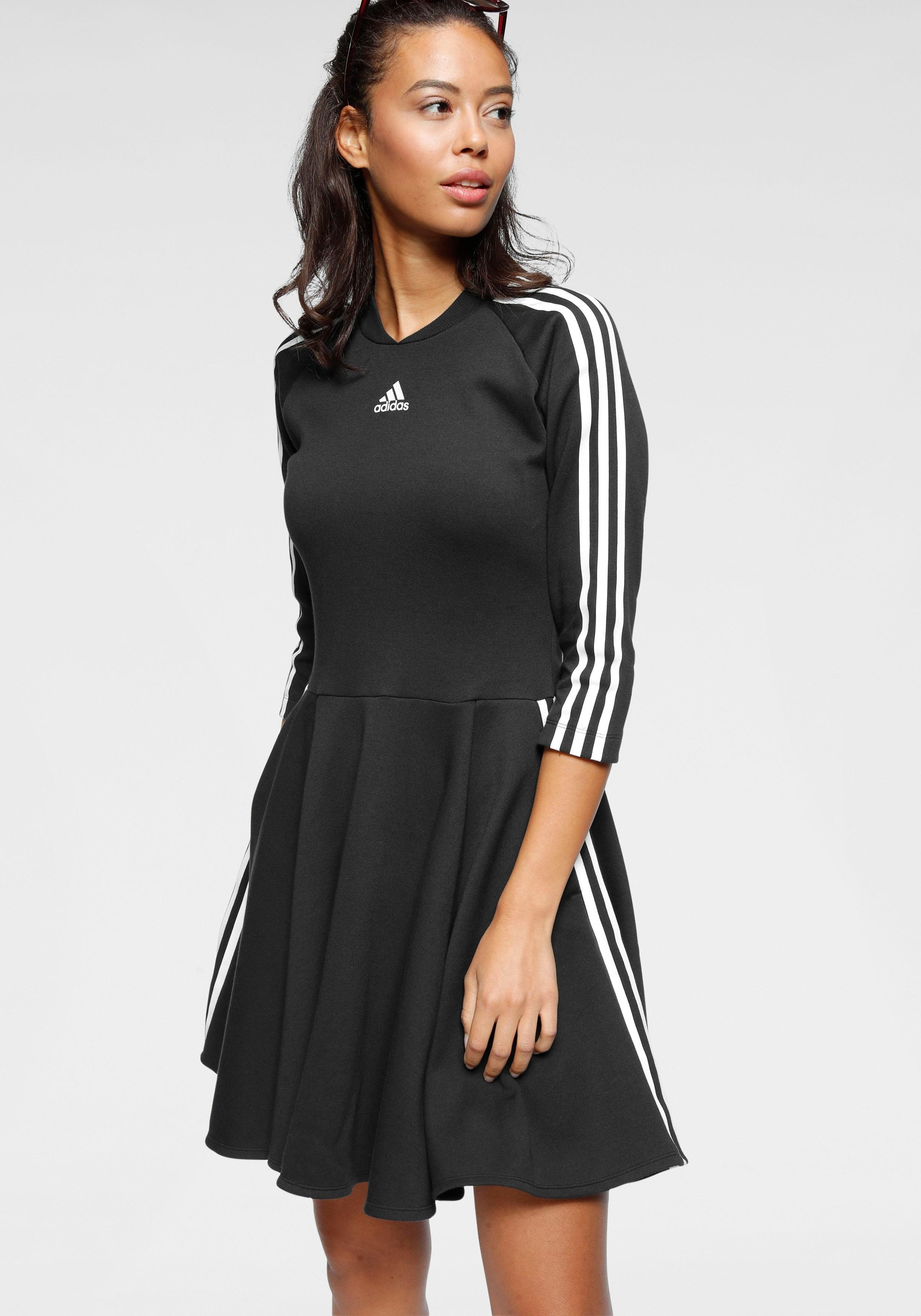 adidas Performance jerseyjurk »3 STRIPES DRESS« bestellen: 30 dagen bedenktijd