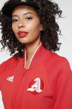 adidas performance jack in collegestijl »w varsity jacket« rood