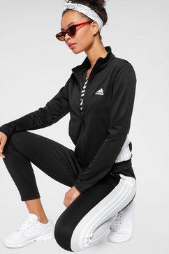 adidas performance trainingspak team sport (set, 2-delig) zwart