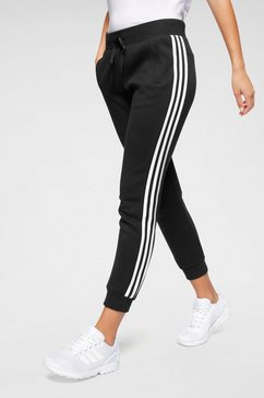 adidas performance joggingbroek »mh pant dk 3 stripes« zwart